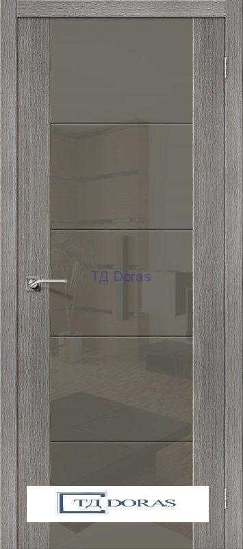 Межкомнатная дверь с экошпоном V4 S Grey Veralinga