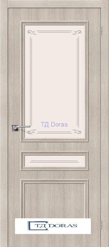 Межкомнатная дверь с экошпоном Симпл-15.2 Cappuccino Veralinga