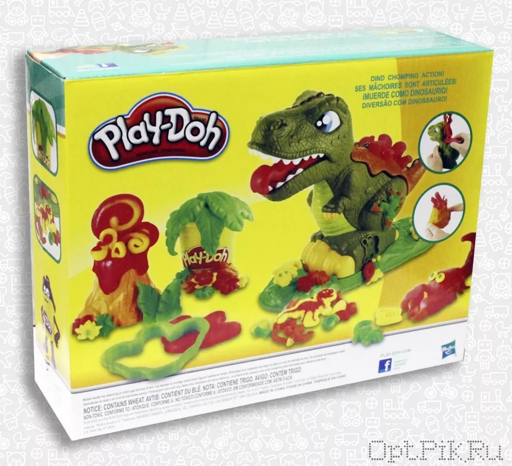 Набор игровой пластилина Play-Doh Могучий динозавр