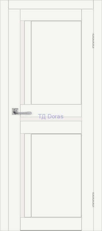 Межкомнатная дверь ДП DIM I-5.1 Crystal Matt Сатинато Белый