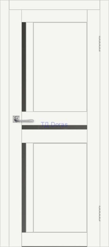 Межкомнатная дверь ДП DIM I-5.1 Crystal Matt Сатинато Графит