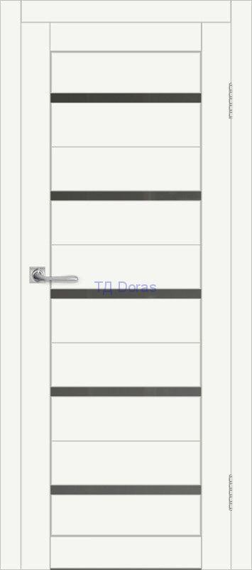 Межкомнатная дверь ДП DIM I-1 Crystal Matt Сатинато Графит