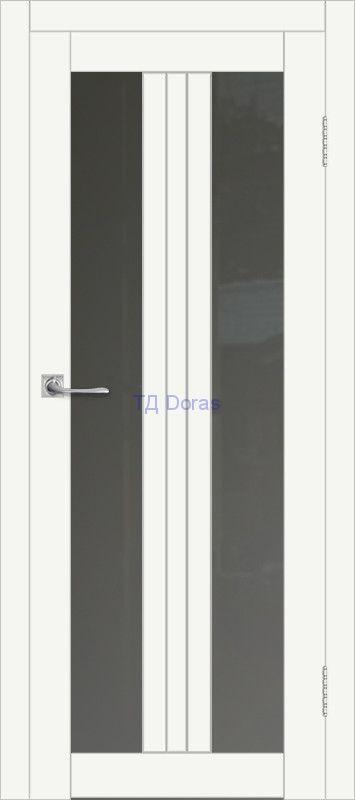 Межкомнатная дверь ДП DIM I-6 Crystal Matt Сатинато Графит