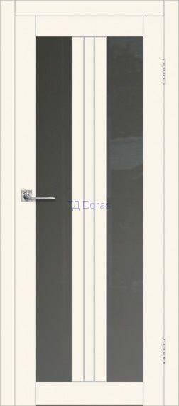Межкомнатная дверь ДП DIM I-6 Angel Matt Сатинато Графит
