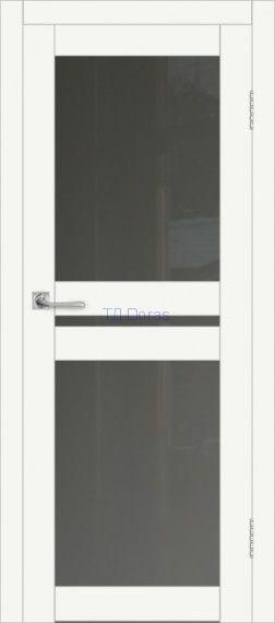 Межкомнатная дверь ДП DIM I-7 Crystal Matt Сатинато Графит