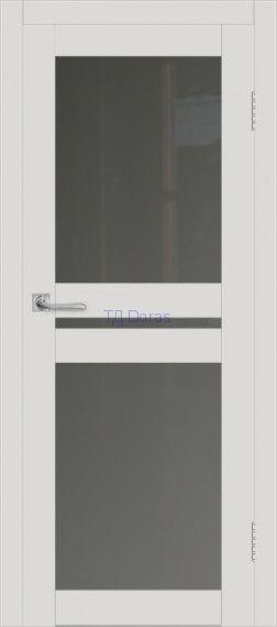 Межкомнатная дверь ДП DIM I-7 Smoky Matt Сатинато Графит
