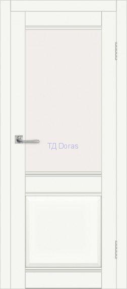 Межкомнатная дверь ДП DIM I-11 Crystal Matt Сатинато Белый