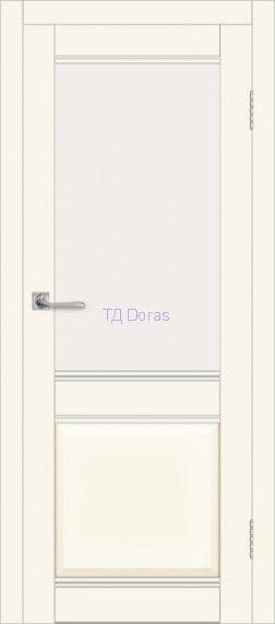 Межкомнатная дверь ДП DIM I-11 Angel Matt Сатинато Белый
