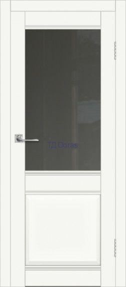 Межкомнатная дверь ДП DIM I-11 Crystal Matt Сатинато Графит