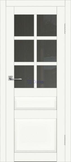 Межкомнатная дверь ДП DIM I-12 Crystal Matt Сатинато Графит