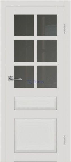 Межкомнатная дверь ДП DIM I-12 Smoky Matt Сатинато Графит