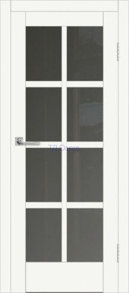 Межкомнатная дверь ДП DIM I-14 Crystal Matt Сатинато Графит