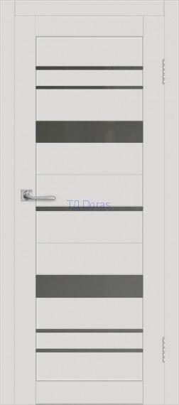 Межкомнатная дверь ДП DIM I-16 Smoky Matt Сатинато Графит