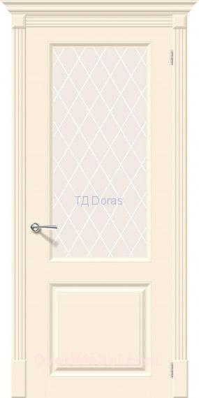 Межкомнатная окрашенная дверь Скинни-13 Cream