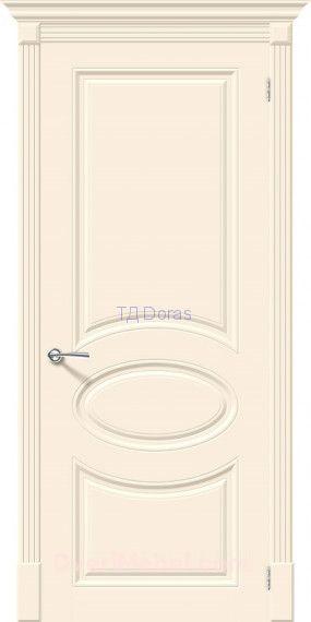 Межкомнатная окрашенная дверь Скинни-20 Cream