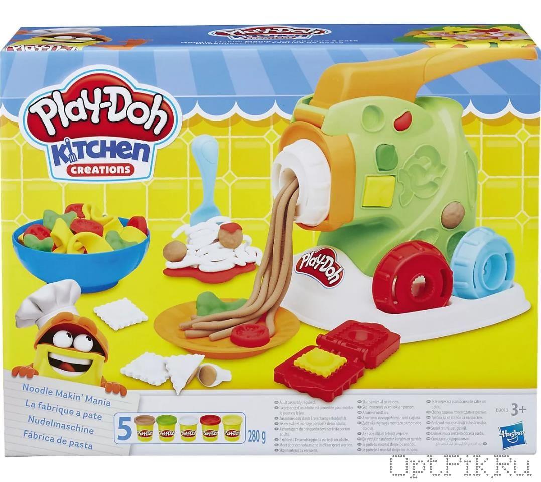 Набор для лепки Play-Doh Машинка для лапши
