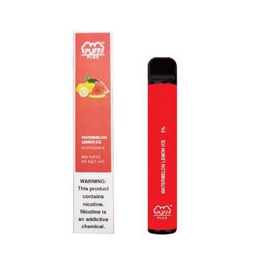Электронная сигарета PUFF Plus Watermelon Lemon Ice