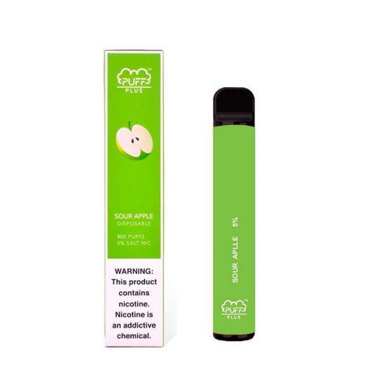 Электронная сигарета PUFF Plus Sour Apple