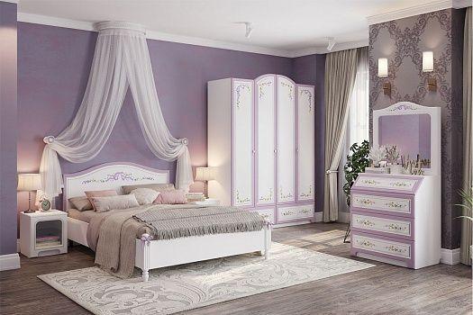 """Кровать 1,4 """"Акварель """""""