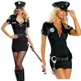 Карнавальный костюм женский для вечеринок Полицейская