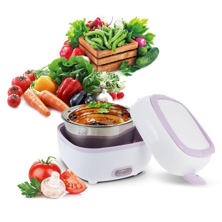 Контейнер для еды с подогревом Electric Lunch Box 1 литр