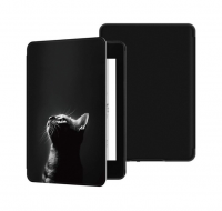 Обложка на Kindle Paperwhite 2018 ( рисунок / ночной кот )