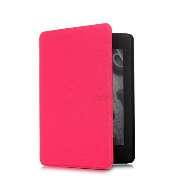 Обложка на Kindle Paperwhite 2018 ( темно розовый )