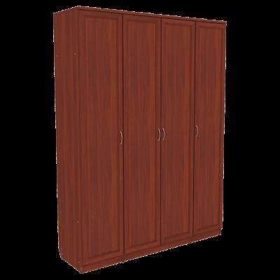 Шкаф для белья со штангой и полками арт. 109 (итальянский орех)