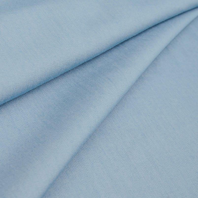 Хлопок джинс Тенсил - голубой 50х37