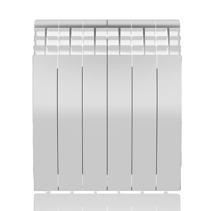 Настенный электрический радиатор отопления РЭБ 6 секций х 500, белый