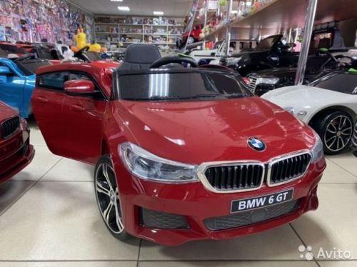 Электромобиль BMW 6GT лицензия, гарантия