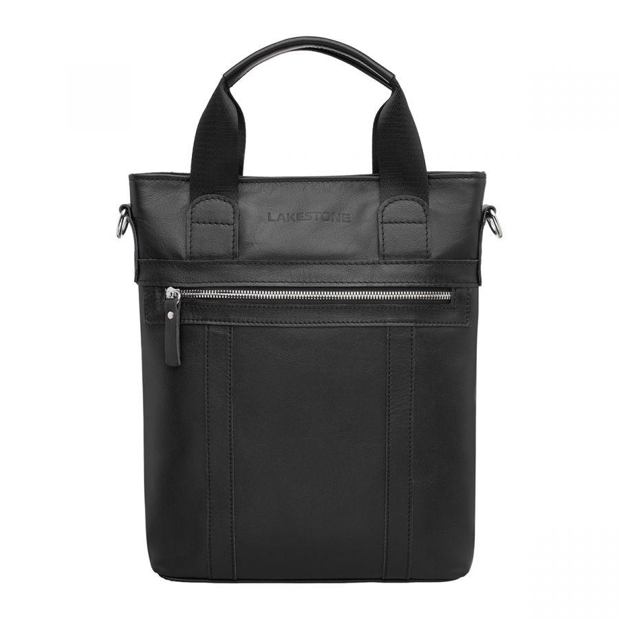 Мужская кожаная сумка Lakestone Orwell Black