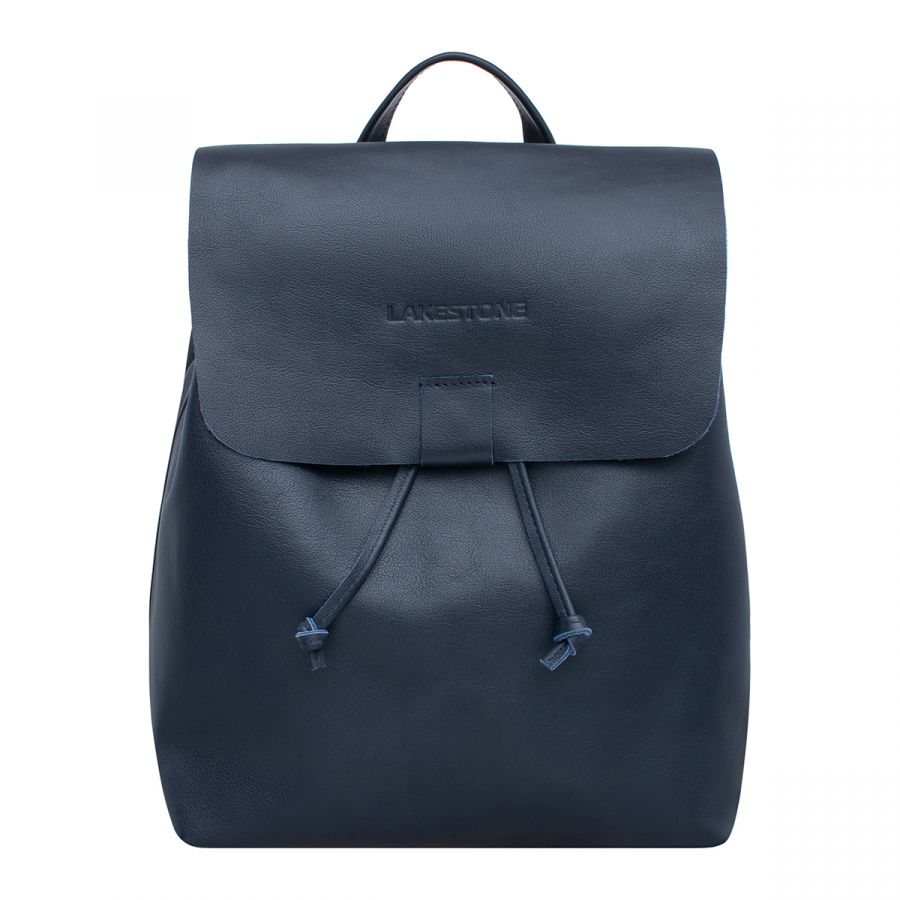 Кожаный рюкзак Lakestone Abbey Dark Blue