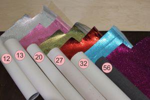 Искусственная кожа(PU, кожзам), сетка, зеркальные блестки, толщина 0,5мм (1уп = полоса 30см*133-137см)
