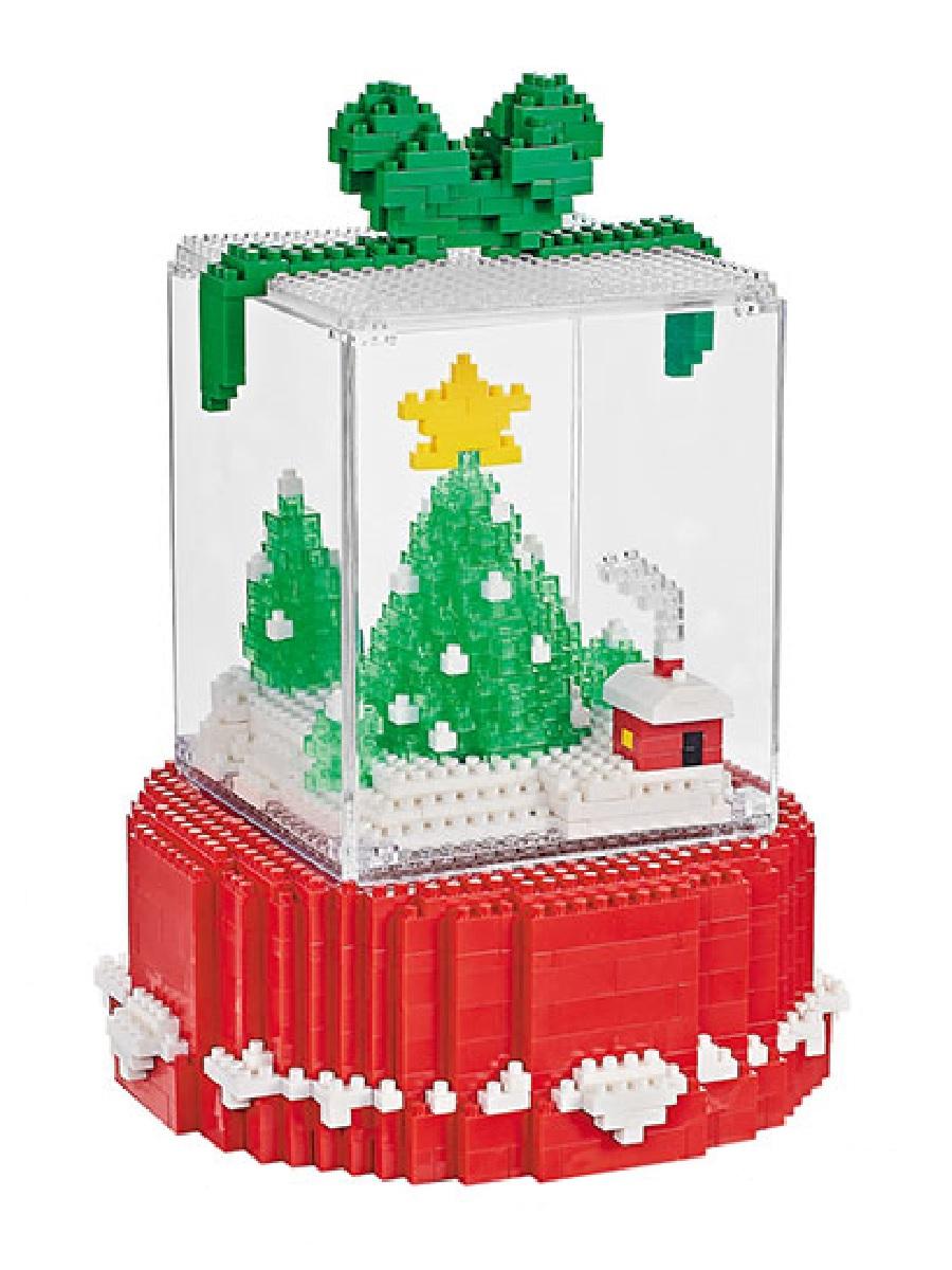 Конструктор Wisehawk & LNO Рождественский подарок 810 деталей NO. 2549 Christmas gift box Gift Series