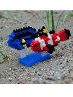Конструктор Wisehawk & LNO Рыба-клоун и цветная рыба-хирург 195 деталей NO. D13 Clownfish and Palette surgeonfish Gift Series