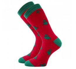 Мужские махровый носки С 4581 Ёлочки