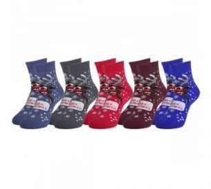 Детские махровые носки С5061 Олень