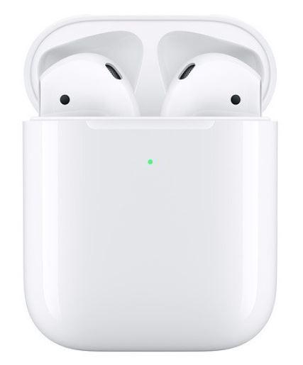 Беспроводные наушники Apple AirPods 2 (с беспроводным зарядным футляром) MRXJ2 Уценка