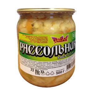 Рассольник REAN 500г (Брянская обл.) ГОСТ СКО