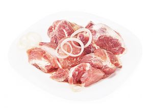 Шашлык из свиной шейки с луком и уксусом п/ф СП О 900г