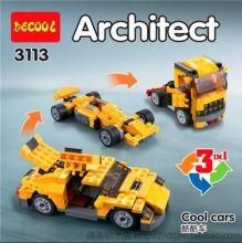 Конструктор 3 в 1 Грузовик Болид Машина  Lego реплика 207 деталей