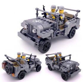 Конструктор ДЖИП военный Lego реплика 199 деталей