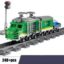 Конструктор Грузовой поезд Lego реплика 248 деталей
