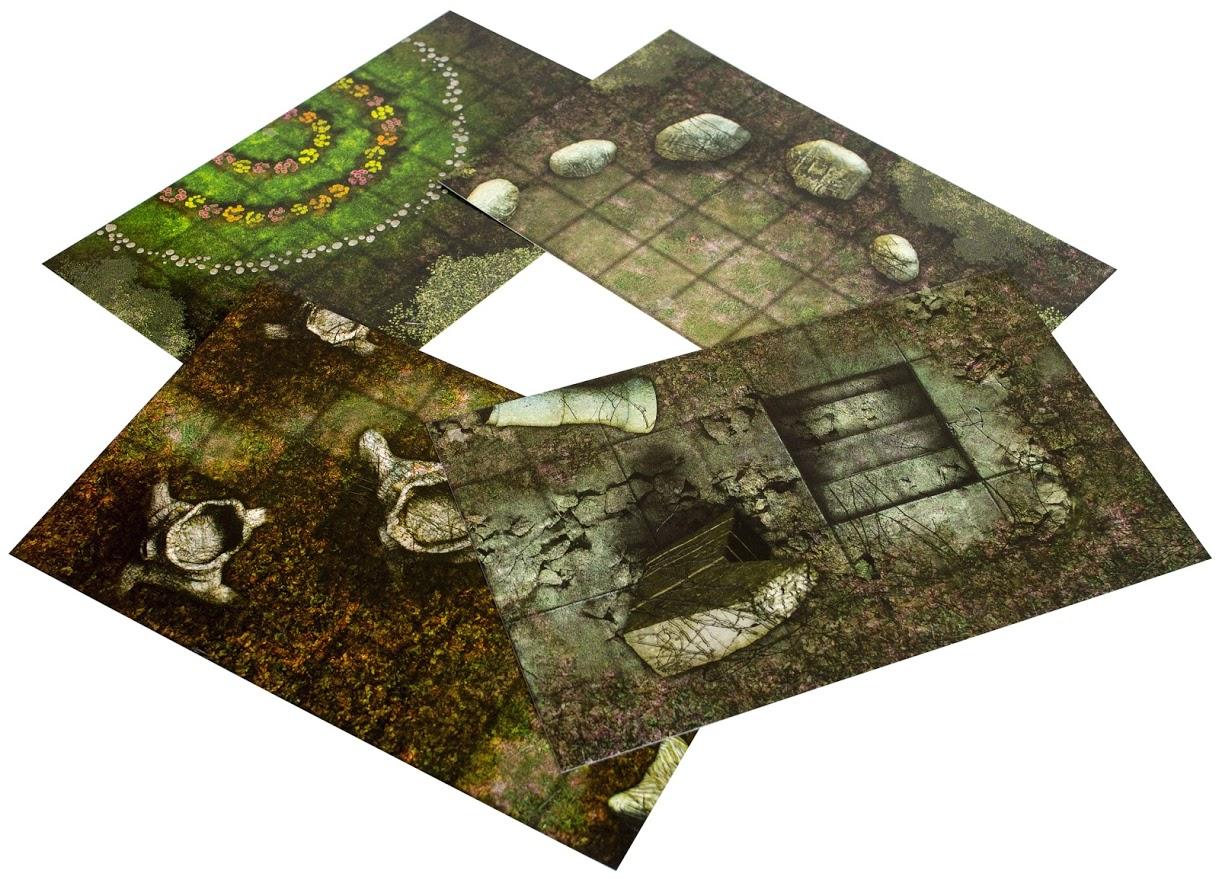 """Pathfinder. Настольная ролевая игра. Составное поле """"Древний лес"""""""