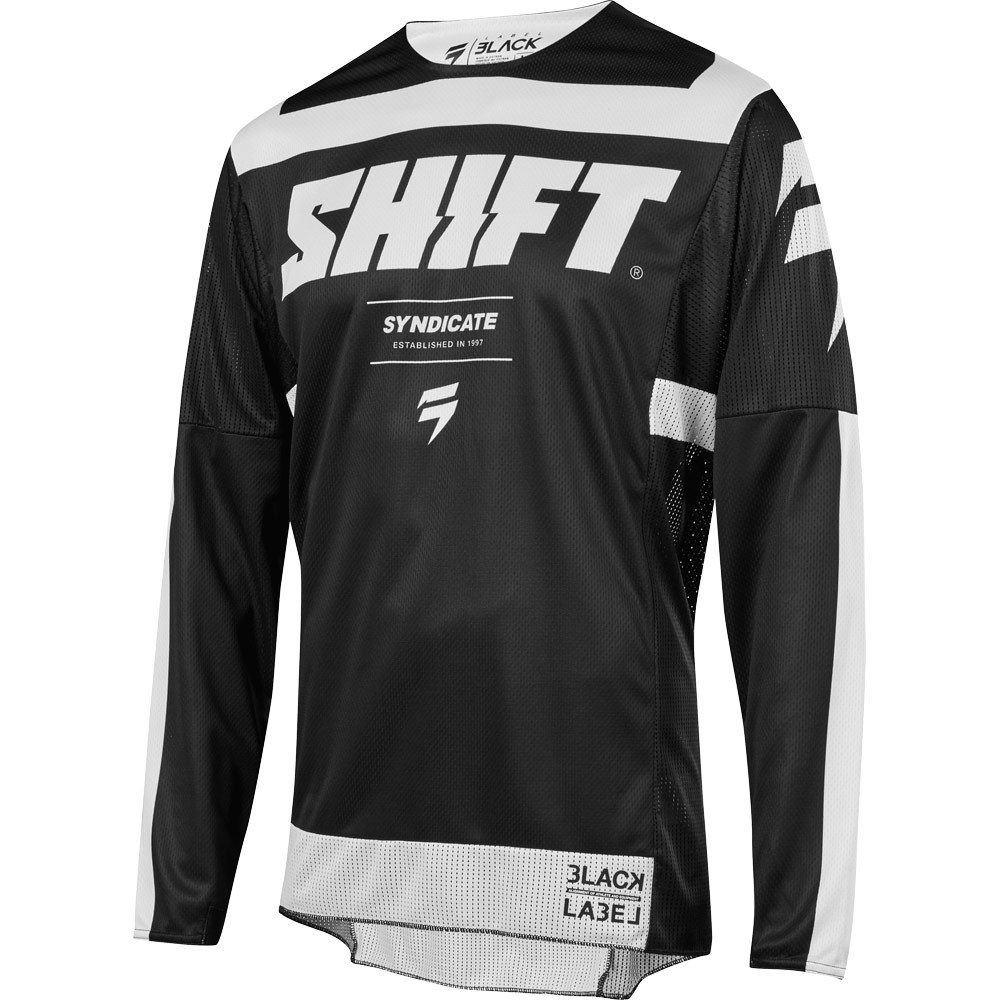 Shift - 2019 3Lack Label Strike Black джерси, черное
