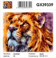 Картина по номерам на подрамнике GX39339