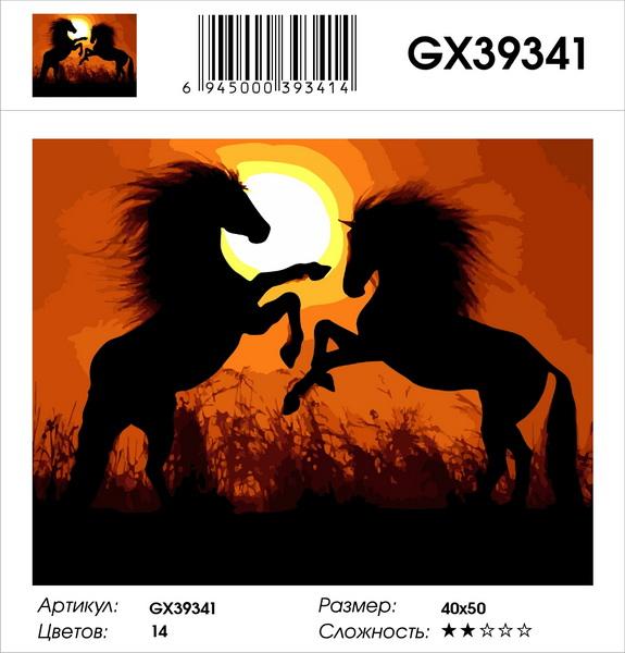 Картина по номерам на подрамнике GX39341