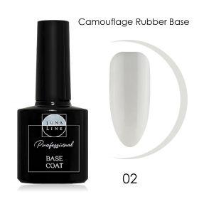 Базовое камуфлирующее покрытие для гель-лака LUNA LINE Camouflage Rubber (10 ml) №2