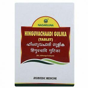 HINGUVACHAADI GULIKA tablet, Nagarjuna (ХИНГУВАЧААДИ ГУЛИКА, Нагарджуна), 100 таб.